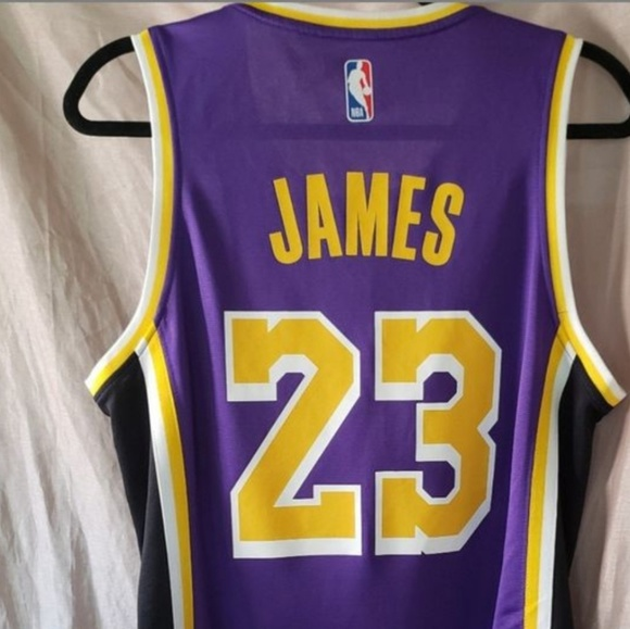 buy popular ad70a d77a1 NBA LOS ANGELES LAKERS LEBRON JAMES JERSEY